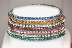 Chimera Design: Oliver Weber Jewelry Now at Chimera Design. These flexible bracelets come in a rainbow of colors - thanks to the precision cut Swarovski crystals. Just $39 with a 2 year warranty. Fun & Affordable.
