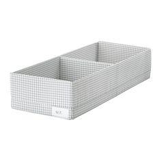 STUK Boîte à compartiments IKEA Permet de ranger et d'organiser des petits objets dans votre armoire ou commode.