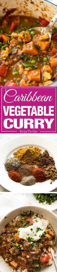 Mixed Vegetable Curry that packs a flavour punch, made with common everyday spices. Make this mild or spicy! www.recipetineats.com