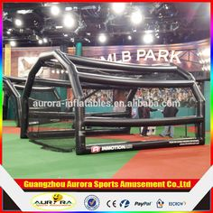 """""""2016 inflatable baseball sport game,funny inflatable baseball batting cages as sports toy"""""""
