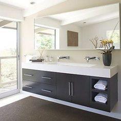 Elegant trough sink