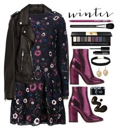 """Winter Boots"" by seannna-hale ❤ liked on Polyvore featuring Jakke, Dries Van Noten, Needle & Thread, MAC Cosmetics, Retrò, Yves Saint Laurent, LORAC, NARS Cosmetics and The Sak"