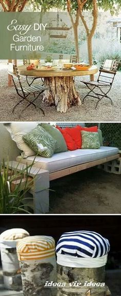 Furniture for outdoors... ...