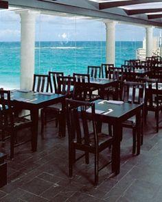 The Crane Residential Resort  ( Saint Philip, Barbados )  Zen restaurant serves Japanese and Thai cuisine alongside gorgeous ocean views. #Jetsetter #JSBeachDining