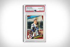 Broncos, John Elway, Nfl, Baseball Cards, Shelter, Nfl Football