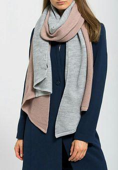 Anna Field - rose grey scarf