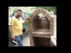 Come costruire un forno con barbecue..... - YouTube