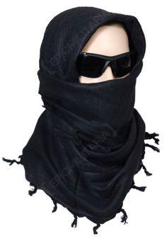 100-Cotton-SHEMAGH-HEADSCARF-Colour-Option-Military-Keffiyeh-Arab-Army-Wrap