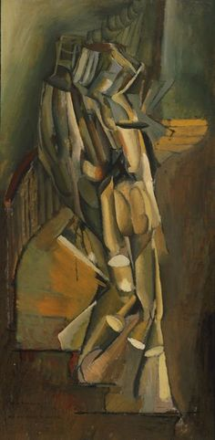 Marcel Duchamp:  Nu descendant l'escalier (N° 1), 1911