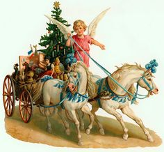 Vintage Christmas--card