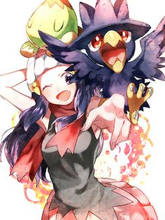 I love Murkrow,today i play pokemon,and earn fly but i didnt have any pokemon,so first i catch him,and for now on he is my fav bird pokemon ^-^