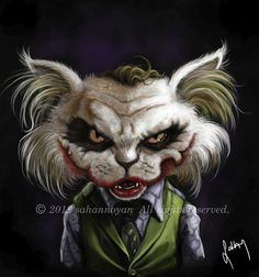 joker By sahannoyan | Famous People Cartoon | TOONPOOL