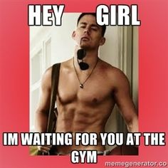 We'll be right there Channing! Where's the nearest Planet Fitness? #noGYMtimidation