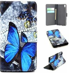 Robinsoni Case Compatible with Huawei Honor 20 Phone Case Wallet Case Leather Phone Cover Shockproof Kickstand Case Notebook Cover Flip Stand Book Style Case Heavy Duty Case Lace Flower Blue