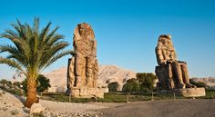 Colossi of Memnon & Valley of the Kings, Egypt