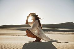 Sand Dunes :: Desert Style :: Cactus Rose :: Boho :: Gypsy Soul :: Bohemian Beauty :: Hippie Spirit :: Free your Wild :: See more Untamed Desert Photography + Fashion Inspiration