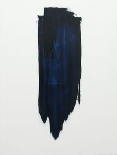 stark contrast brush stroke | art | painting | modern art