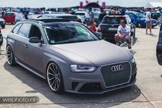 Matt Grey RS6 Avant..