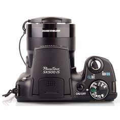 Cámara Digital Canon PowerShot SX500 IS 16MP 30x-Negro TAMBIEN