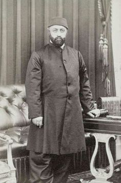 The Ottoman sultan Abdülaziz (1830-1876); he reigned from 1861 to 1876.