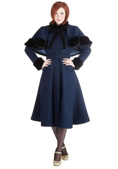 Victorian Cost- Actually a 1950s style that copied a Victorian coat. Either decade its stunning! $264.99