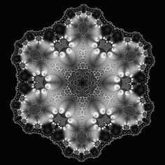 Image result for fractal snowflake