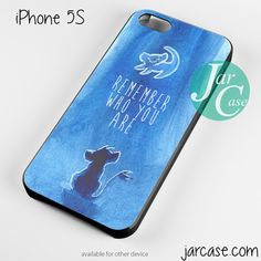 remember who you are lion king Phone case for iPhone 4/4s/5/5c/5s/6/6 plus