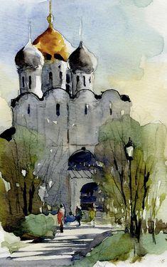 Успенская церковь в Новодевичьем монастыре