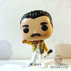 Best Funko Pop, Custom Funko Pop, Pop Figurine, Pop Characters, Queen Freddie Mercury, Queen Band, Killer Queen, Funko Pop Figures, Biscuit