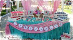 ΣΤΟΛΙΣΜΟΣ ΒΑΠΤΙΣΗΣ ΓΙΑ ΚΟΡΙΤΣΙ - ΓΟΡΓΟΝΑ - ΚΩΔ:GORGONA-215 Desert Table, Wooden Boxes, Box Decorations, Decorative Boxes, Birthday Cake, Baby, Design, Candy Table, Mesas
