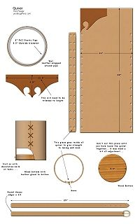 Medieval Leather Quiver How to Project