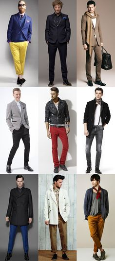 These are some of the clothing used today by men and these styles are more diverse.