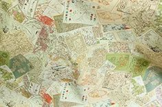 world map linen fabric by the yard review