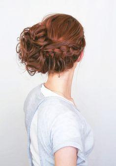 50 Hair Tutorials  How To's To Inspire You! DIY hair styles wedding hair inspiration | DIY wedding blog | Bespoke-Bride: Wedding Blog