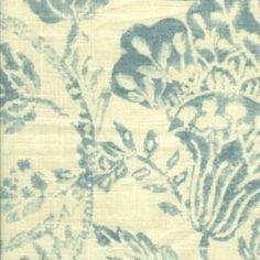 Bohemia from Threadcount #fabric #linen #blue
