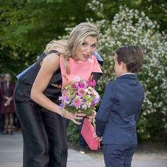 Queen Maxima of The Netherlands at opening of 70th Holland festival