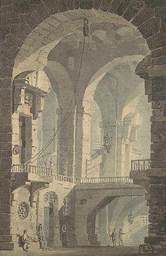 Dark Prison After Piranesi, c.1790 by Joseph Mallord William Turner, The Metropolitan Museum of Art.