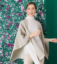 Standing out > Blending in. Make a statement with this Metallic Reversible Poncho. Instagram Shop, How To Make, How To Wear, Metallic, Shopping, Fashion, Moda, Fashion Styles, Fashion Illustrations