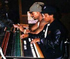 Rare footage...Pac & Eazy-E