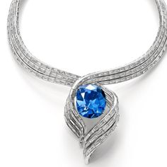 The new Hope Diamond setting by Harry Winston:)