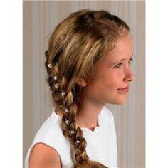 Frisuren Mädchen Kommunion Frisuren Zoé Pinterest Frisur Ideen