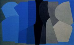 Vasarely, Victor - Abstract Art, 166 Sirs-Kek, 1953 Oil on canvas