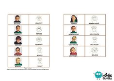 Szociális kompetenciákat erősítő játékok Children, Kids, Preschool, Education, Kid Garden, Kindergarten, Training, Sons, Young Children
