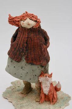 Sculptures Céramiques, Wood Sculpture, Ceramic Clay, Ceramic Pottery, Le Totem, Ceramic Sculpture Figurative, Finger Curls, Anne Sophie, Art Gallery