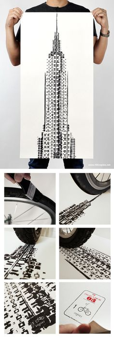 The Daily Bike: Thomas Yang's art is simple, brilliant, and affordable. Check it out. http://www.adventure-journal.com/2014/08/the-daily-bike-thomas-yangs-bicycle-art/