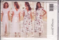 Butterick 4435, Misses' Easy Dress Size 10