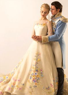 Heres Your First Look At Cinderellas Wedding Dress