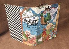 Graphic 45 Mother Goose, Nursery, Child Mini Album by Scrapsforsanity on Etsy