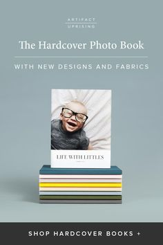 We've reinvented the photo book. With new cover designs, interior layouts and fabric colors, the Hardcover Photo Book from @artifactuprsng touts classic appeal.