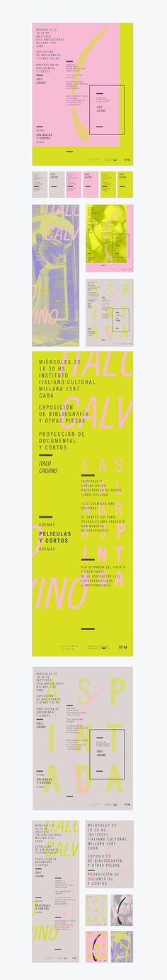 Las Palabras Pintadas by Lucía Izco, via Behance